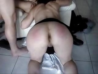 My wife has pussy licked by wife of my friend