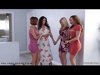 Lesbian Matures Swapping Partners P1 - Krissy Lynn, Serene Siren