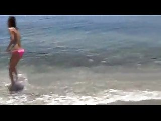 Sexy teen fuck in beach orgy anal creampie and cumshot
