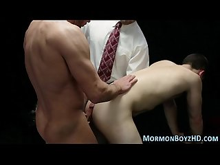 Mormon gets ass pegged