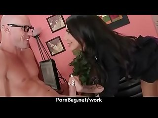 Office sex with busty women at work 26