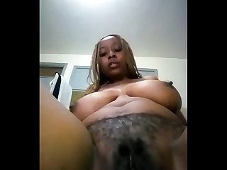 Horny african black Mom pt1