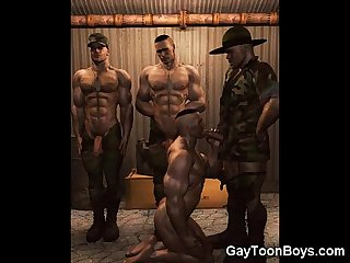 3d muscular dudes excl