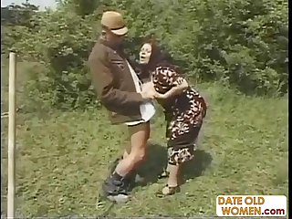 Big old tammy gets fucked outside