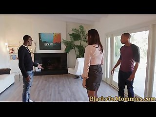 Realestate milf interracial pounded hard