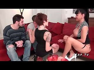 German milf swingers take cocks in foursome