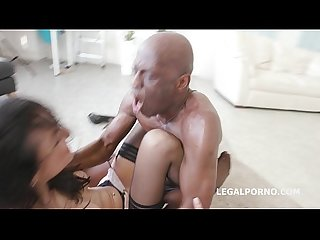 Blackbuster Francys Belle all anal with Mike Chapman ANAL /Rough Fuck /Gape /Ball Deep..