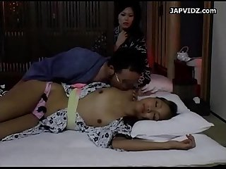 Asian beauties fondled and fucked
