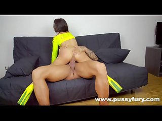 The young alicia poz fucked by a bodybuilder hardcore sex