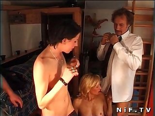 French swingers in a Groupsex party