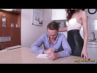 My Teen Ass - Student fucked school teacher in all holes