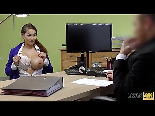 Loan4k period mischel lee enjoys sex for cash with manager in his office
