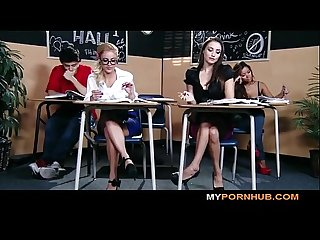 BRAZZERS - STUNNING BRUNETTE SCHOOLGIRL SEDUCES HER HOT BLONDE CLASSMATE View more videos on..