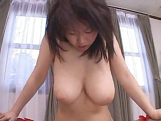 Reina nishio perky tits beauty dealing two cocks on cam - 3 4