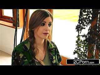 Tough soldier bitches Lexi lowe stella cox are ready for any cock