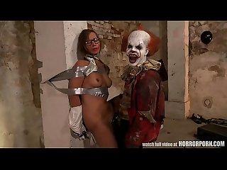 Horrorporn it is a clown