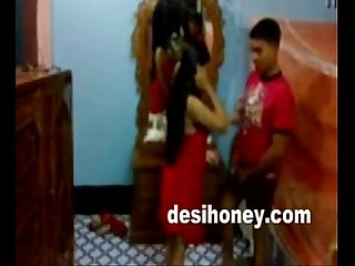 Sexy indian young wife giving blowjob to her husband www desihoney com