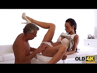 Old4k she had long dreamed of a cock of her boss