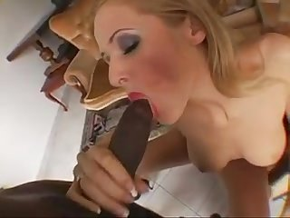 Lovely jane big black cock tryout