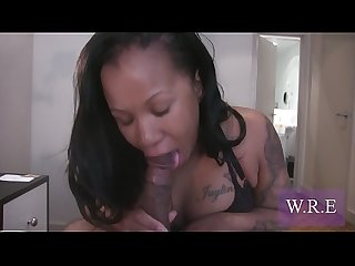 Lessy Devoe & Valentina giving Sloppy Top