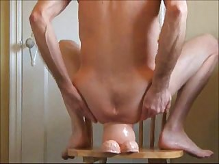 Ass fuck and the walrus penis huge dildo balls deep anal