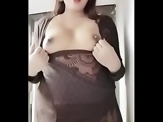 Swathi naidu showing boobs out from dress