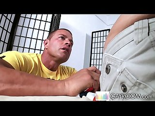 Gayroom zac s first deep