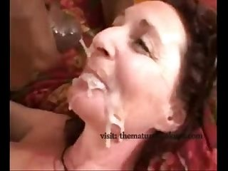 Milf facials compilation interracial