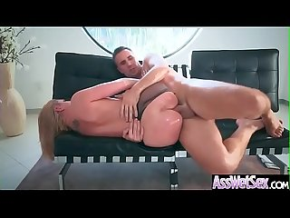 (Brooklyn Chase) Big Oiled Ass Girl Like Deep Anal Hardcore Sex clip-10