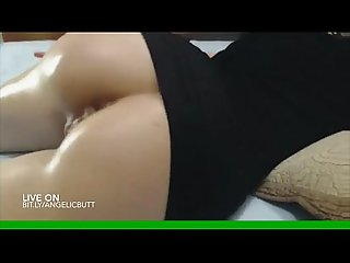 Horny milf stuffing her ass on cam bit ly angelicbutt