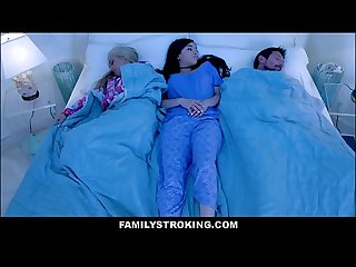 Latina Teen Stepdaughter Savannah Sixx Family Sex With Mom Honey Blossom And Dad In Middle Of The..