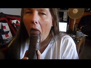 Amateur mature sucking cock well and swallowing jizz