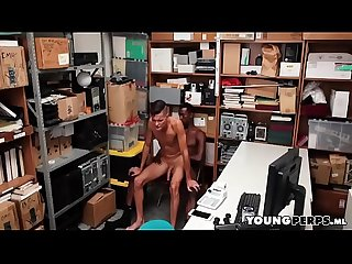 BBC Interracial Painal Sex In Back Office