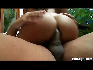 Evilangel tanlined latina dp d and double stuffed hard