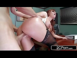 Bossy Business Lady Britney Amber Loves Anal