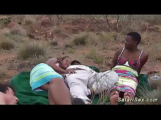 real african safari sex orgy