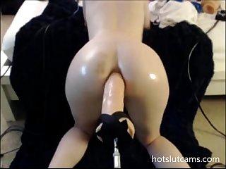 Brutal dildo machine anal hotslutcams com