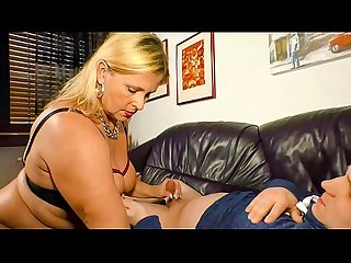 XXX OMAS - Chubby German mature blonde fucked doggy