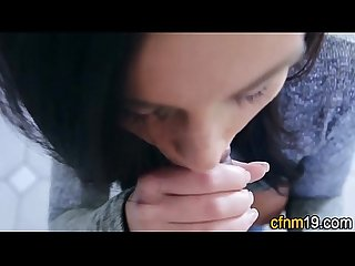 Jizz mouth cfnm teen pov