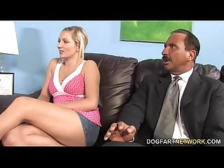 Kylee reese and her father tries Bbc therapy