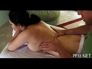 Steamy sexy body massage