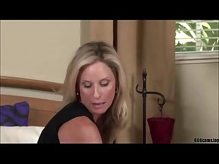 Blonde milf gives blowjob and anal 666cams top