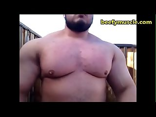 beefymuscle.com - Teen hulk bouncing massive pecs [tags: muscle bear gay..