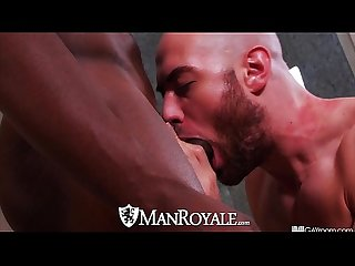Manroyale interracial cock sucking ass eaters