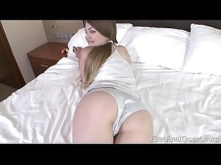 Amana Clark�s first and best ass fucking lesson - firstanalquest.com!