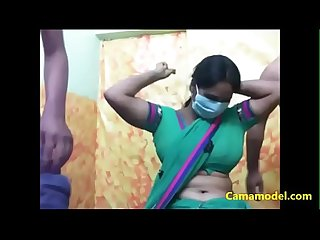 Sexy indian bhabhi enjoys threesome on webcam camamodel com