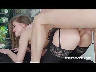Evelina darling addicted to lingerie and and Anal Sex