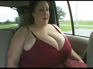 Extremely Large Tits in Cleavage Gushing Outfits