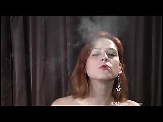 Addie Juniper - Smoking Fetish at Dragginladies