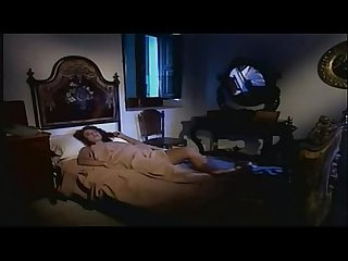 Beautiful italian brunette fucks older man in bedroom